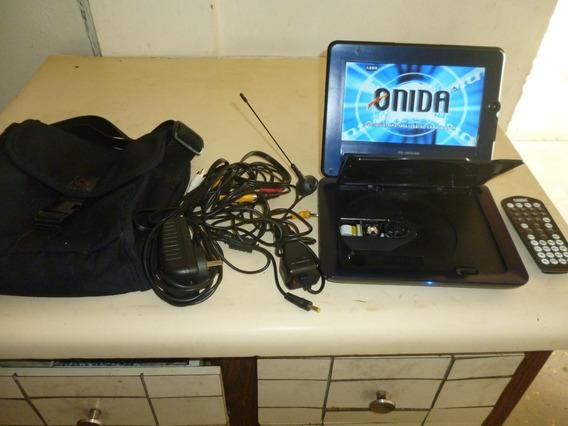 Dvd Portatil Marca Onida De 7 Modelo Pd-1002usb