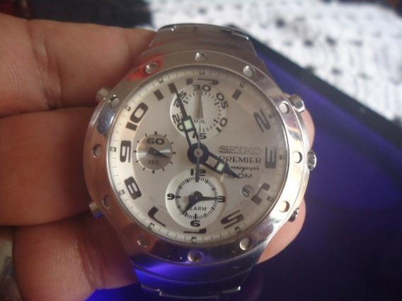 Relógio Seiko Masculino Cronógrafo Sk000 Lindão