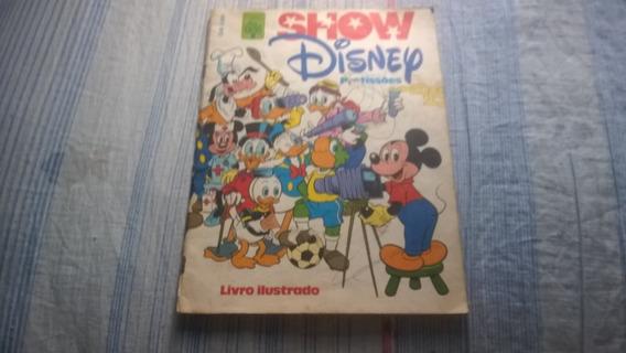 Album Show Disney De Profissões - Incompleto ( 1 )