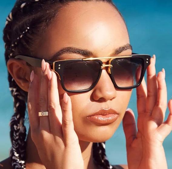 Óculos De Sol Dita Mach One Hip Hop Quadrado