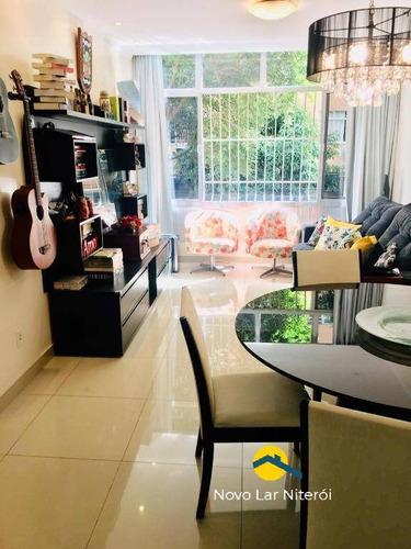 Imagem 1 de 11 de Excelente Apartamento No Miolo De Icaraí  2 Suites Hidromassagem  Vaga - 30