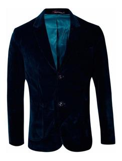 Saco Corderoy Entallado Slim Fit Hombre - Quality Import Usa