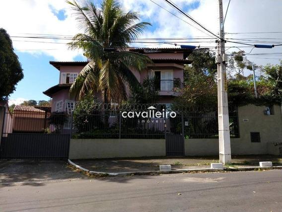 Casa Residencial À Venda, Centro, Maricá. - Ca3140
