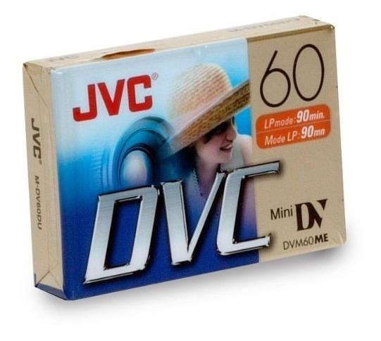 Cassette Video Minidv Jvc / Dvc 60 Minutos (dvm60me)