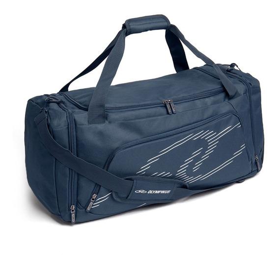 Bolsa De Viagem Olympikus Gym Bag Line 60 Cm Marinho Origina