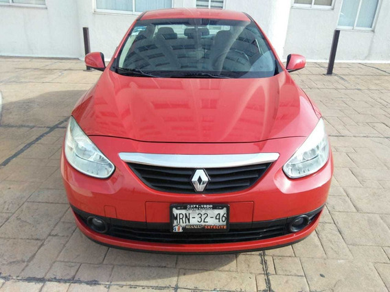 Renaul Fluence 2012 Expression 4 Puertas 4 Cilindros