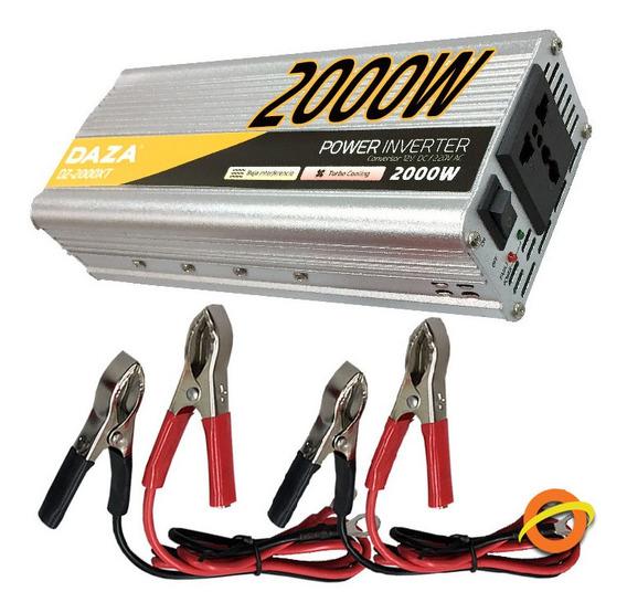Inversor Conversor Transformador 12v A 220v 2000w Daza Auto