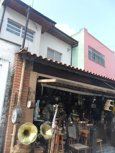 Imagem 1 de 2 de Sobrado Para Aluguel, 3 Quartos, 1 Suíte, 2 Vagas, Bela Vista - Santo André/sp - 7062
