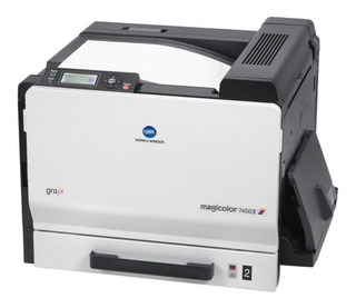 Impresora Konica Minolta 7450-usada S/toner