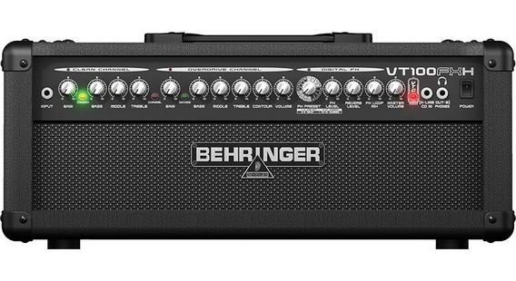 Cabeçote Amplificador Behringer Vt100fxh 100 Watts 2 Canais