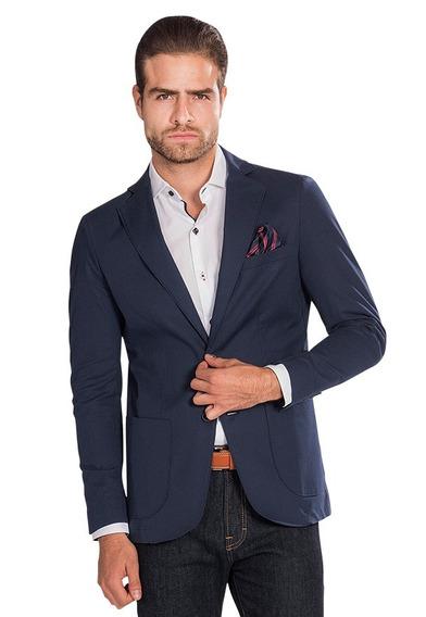 Sacos Hombre Slim Fit Casuales Formales Blazer Vestir F85303