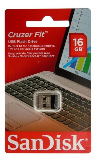 Kit 12 Pen Drive 16gb Nano Sandisk Cruzer Fit Z33