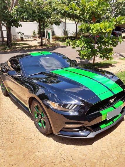Mustang V6, 3.7l, 2015, 46.000km, Impecável, Escap. Esport.