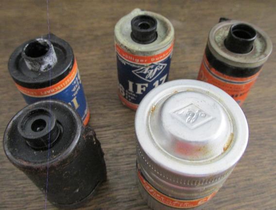 Filmes 35mm Antigos Agfa Para Coleção (c10)