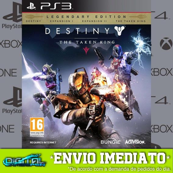 Destiny The Taken King Ps3 Midia Digital Em 10 Minutos!