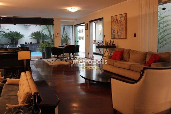 Sobrado Com 5 Dormitórios À Venda, 642 M² Por R$ 2.500.000,00 - Santa Maria - São Caetano Do Sul/sp - So0795