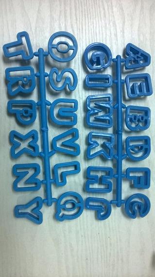 Cortador De Letras Para Fondat-porcelana Fria 3 Cms De Alto