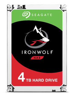 Disco duro interno Seagate IronWolf ST4000VN008 4TB