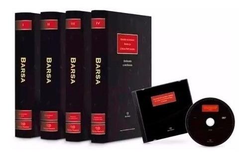 Coleção Grande Dicionário Barsa Da Língua Portuguesa 4 Vols