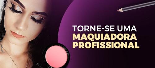 Imagem 1 de 3 de Curso De Maquiagem On-line