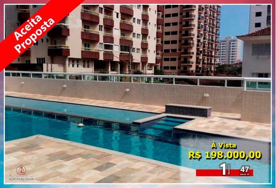 Apartamento 1 Quarto À Venda, 47 M² Por R$ 198.000 - Ap1261