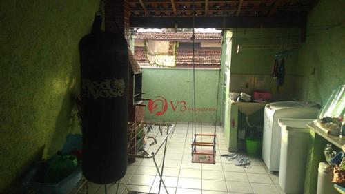 Sobrado Com 2 Dormitórios À Venda, 100 M² Por R$ 320.000 - Vila Regina - São Paulo/sp - So0319