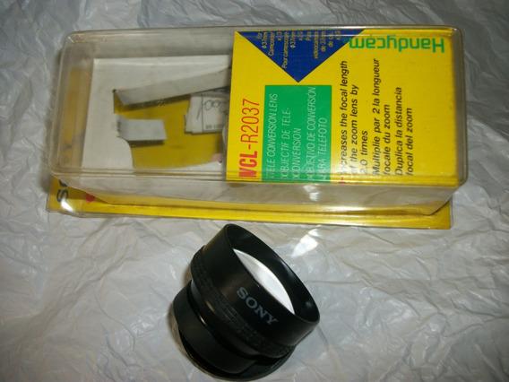 Tele Objetiva Sony Notafiscal Zom Camara (2x)filmadora.