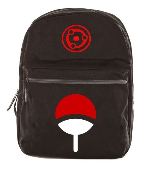 Mochila Bolsa Naruto Sharingan Modelo 01º Escolar