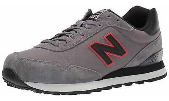 Tenis New Balance 515 Sneaker Classics Gray Retro 28mx