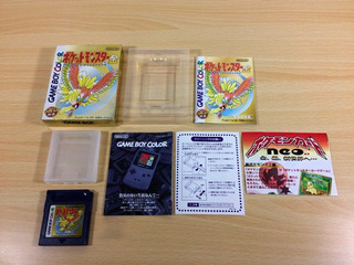 Juego Pokemon Gold Game Boy Color Gbc Japones