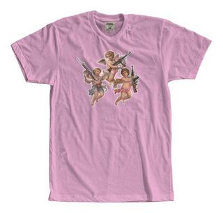 Camisetas Camisa Anjos Metralha Angel Tumblr Cupido Swag