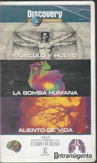 Discovery Channel: Gran Enciclopedia Del Cuerpo Humano (vhs)