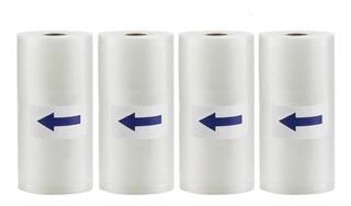 4 Rollos De 8x50 Para Bolsas De Almacenamiento De Sellador D