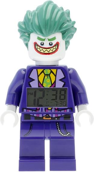 Reloj Despertador The Joker Dc Comics Lego