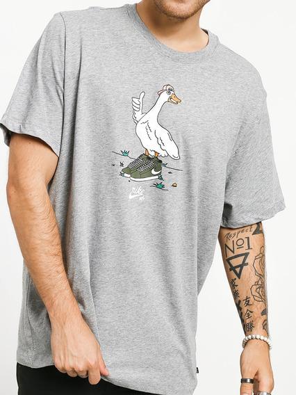 Camisa Nike Sb Skater Ganso Casual Esporte Frete Gratis