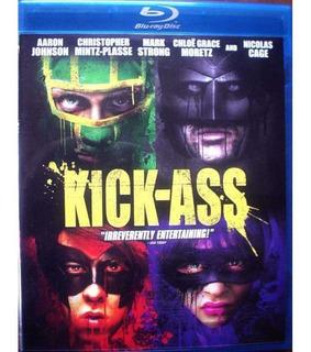 Blu-ray Kick Ass Ficcion Impecable 1disc Bluray Sub En Españ