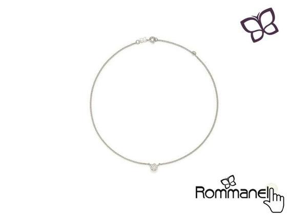 Gargantilha Choker Diamantada Rommanel 532001