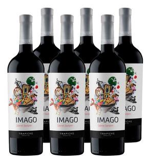 Vino Imago Cabernet Sauvignon X750cc Caja X6