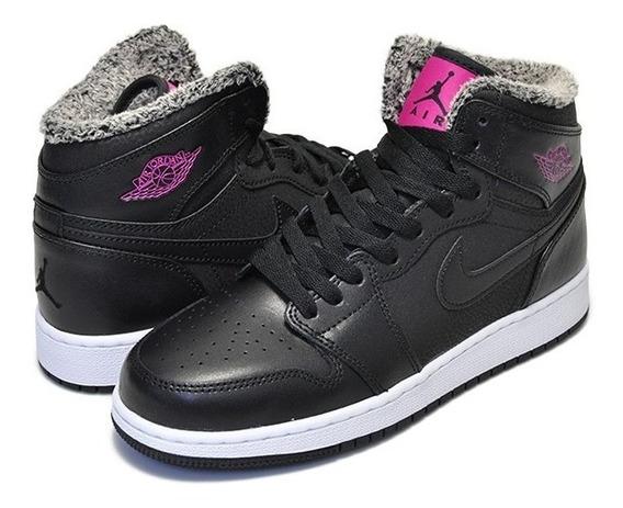 Tenis Nike Air Jordan 1 Retro High Flecce Gg Originales