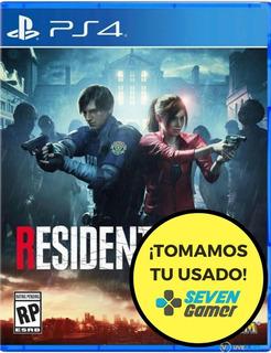 Resident Evil 2 Remake Ps4 Juego Fisico Sellado Sevengamer