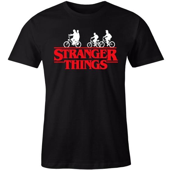 Playera Stranger Things Bike