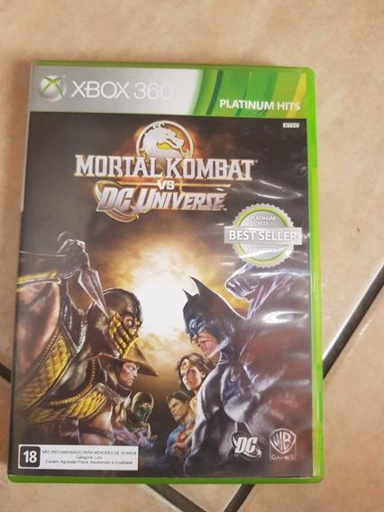 Mortal Kombat Vs Dc Universe Original Xbox 360