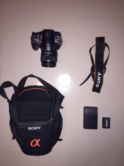Camera Sony A330 + Lente 18-55mm Praticamente Nova
