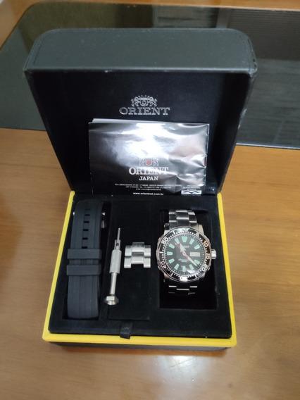 Relógio Orient Poseidon 300m Na Caixa Completo