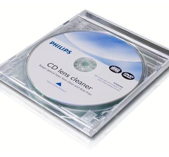 Limpiador De Lentes De Cd Dvd Blu-ray - Philips
