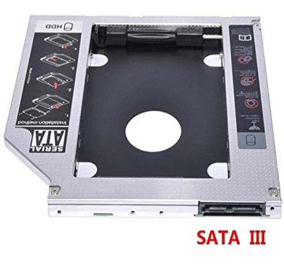Caddy Para Segundo Hd Ou Ssd 2.5 Sata 9.5mm Adaptador Novo