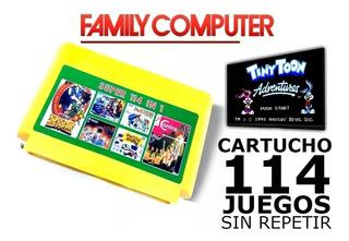 Cartucho 114 Juegos En 1 Family Game Edición Coleccion!!!