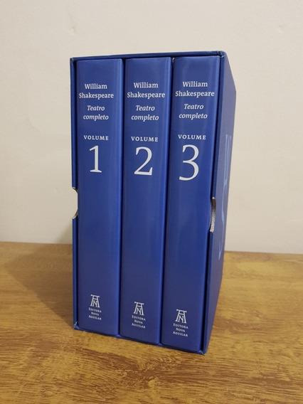 Box Obras Completas William Shakespeare. Nova Aguilar.