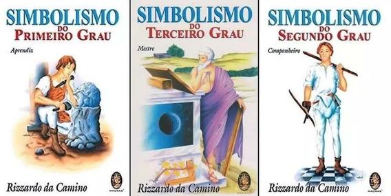 3 Livros Simbolismo Do Primeiro Segundo E Terceiro Grau