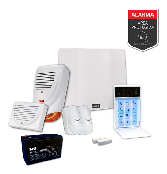 Alarma Departamento Cableado Sensor Magnetico